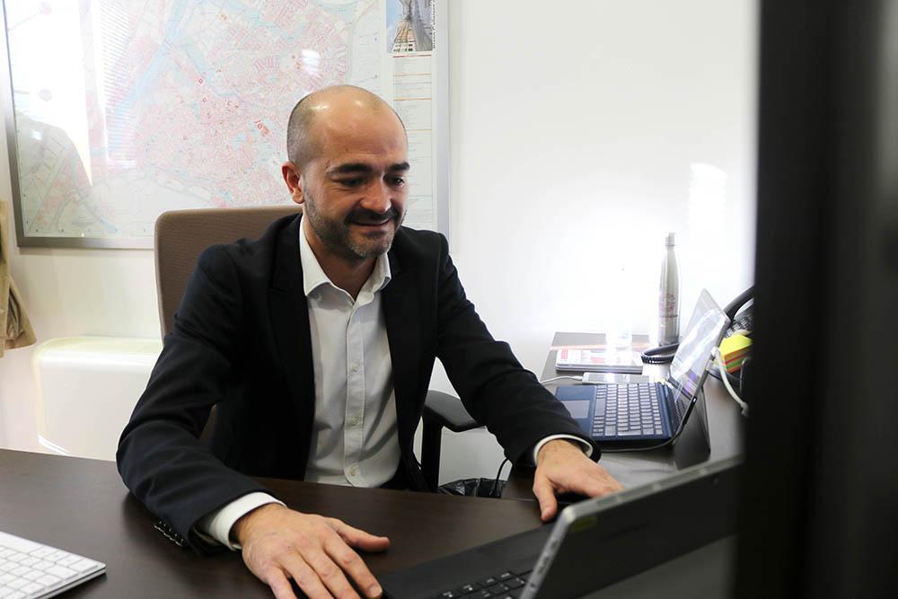 Israel Marco portavoz de Cs en el Ayto De guadalajara