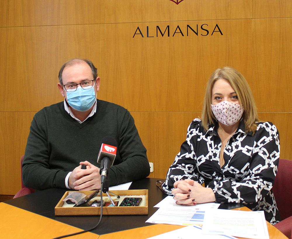 Javier Sánchez y Antonia Millán