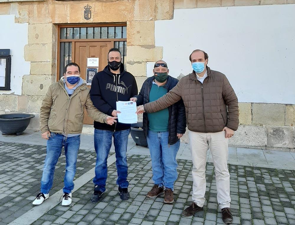Portavoces PP, VOX, Cs y Contigo Torrejón del Rey