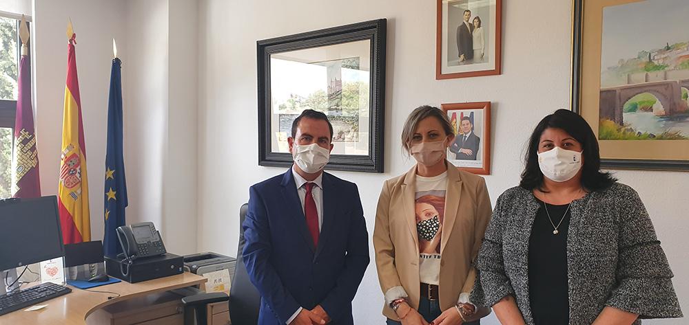 Reunión con la alcaldesa de Seseña 2