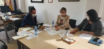 Reunión con la alcaldesa de Seseña