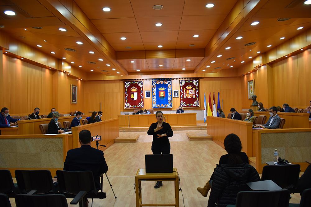 Talavera pleno municipal juzgados