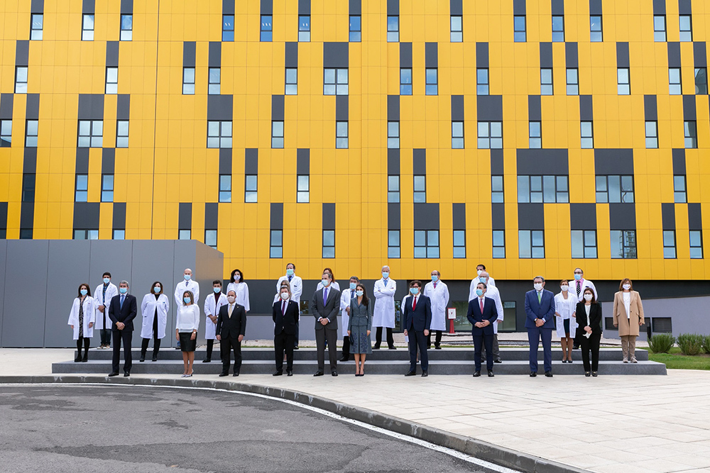 inauguración del Hospital Universitario de Toledo 2