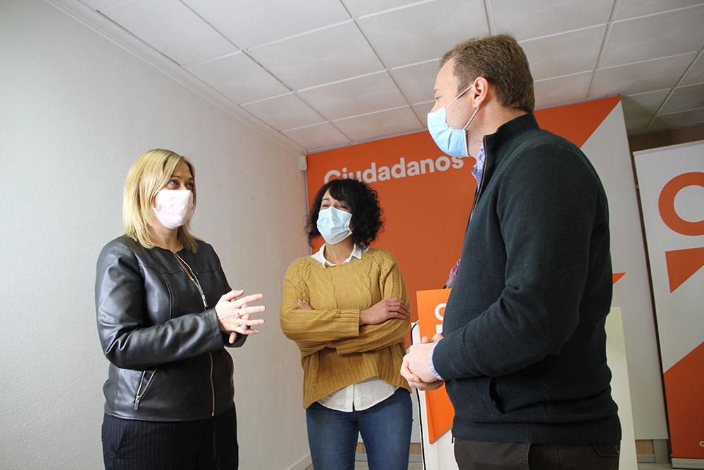 Carmen Picazo, Vicente Casañ, Agapita García