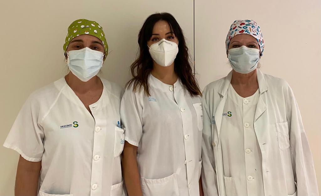 Enfermeras del HNP