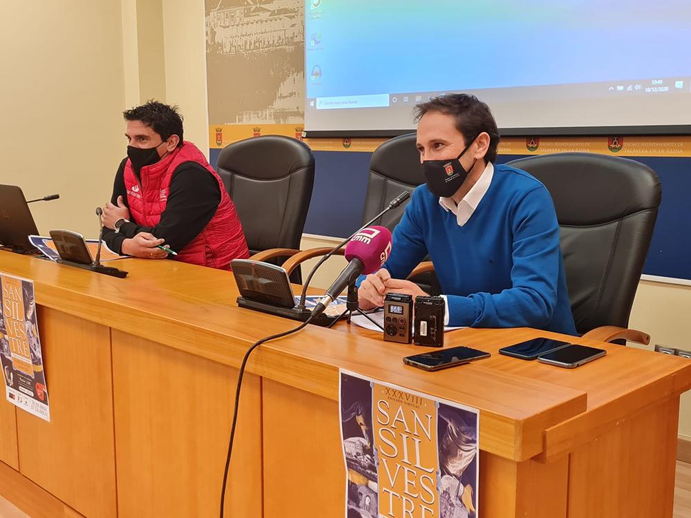 Sergio Gutiérrez presentación San Silvestre