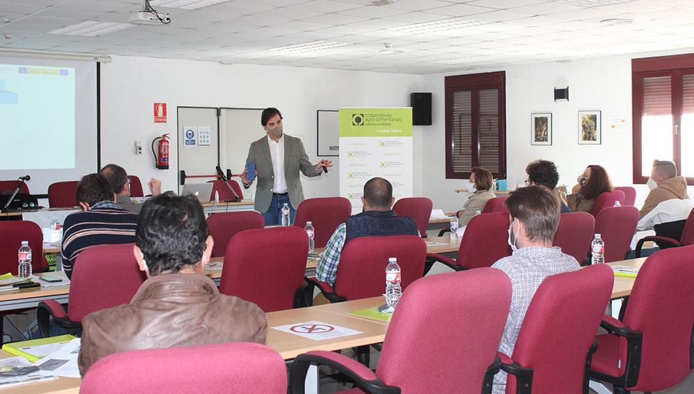 Sesión Marketing Digital Formación Cooperativas Agroalimentarias CLM