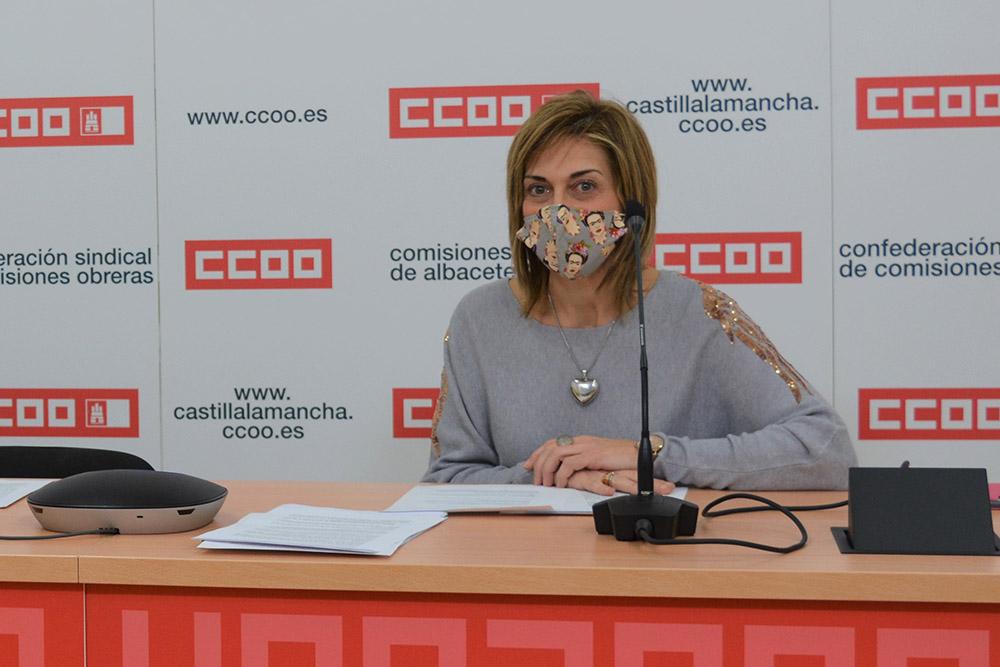 Carmen Juste, Sec gen CCOO AB
