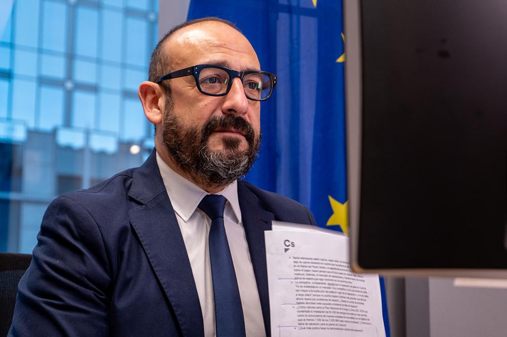 Jordi Cañas eurodiputado Cs