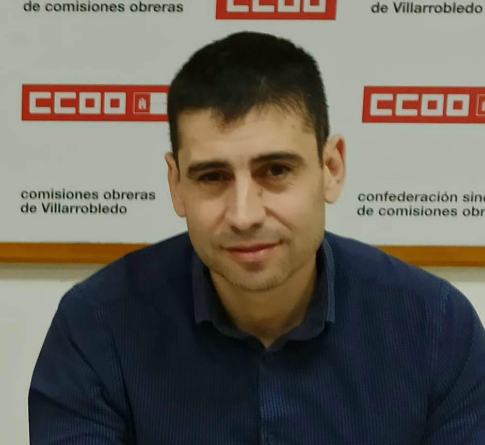 Paco Gómez CCOO Villarrobledo
