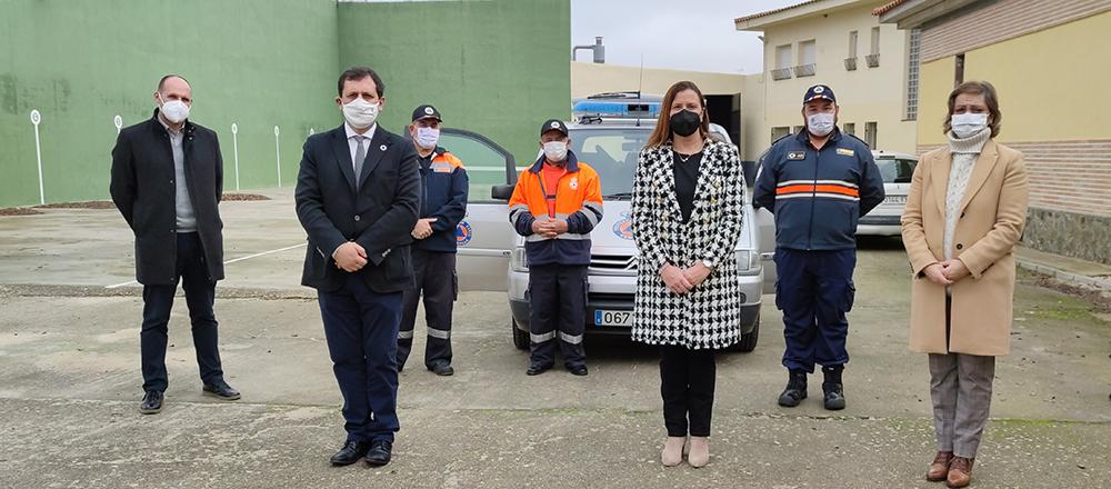 Visita Protección Civil Cebolla