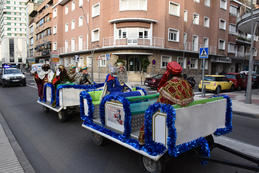 foto visita Reyes Magos Talavera