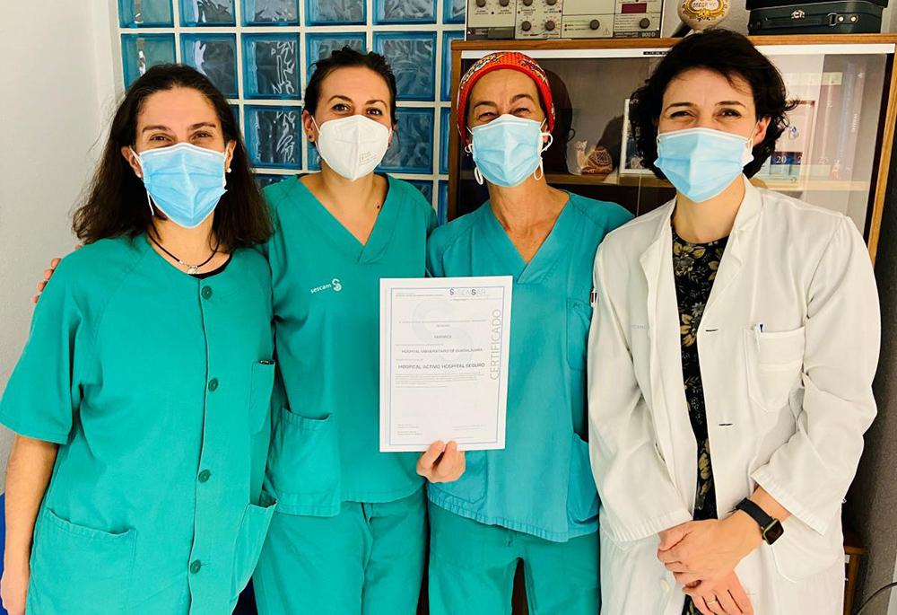 Beatriz Amorós Alfonso, Laura Martínez-Meco, Milagros Pretel Merlo y la propia Lourdes Muñoz Corsini