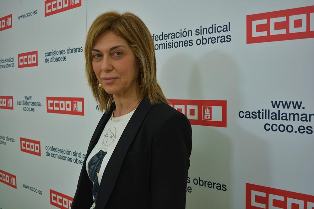 Carmen Juste CCOO Albacete