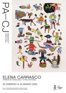 Cartel CJ expo Elena Carrasco 20210225