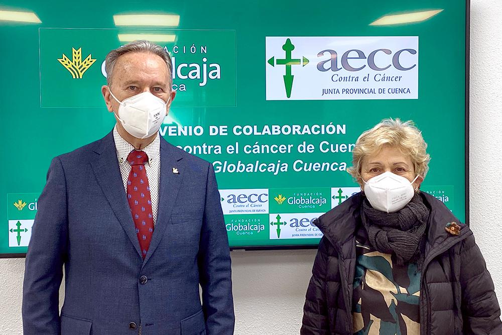 Firma convenio Fundación Globalcaja Cuenca - AECC