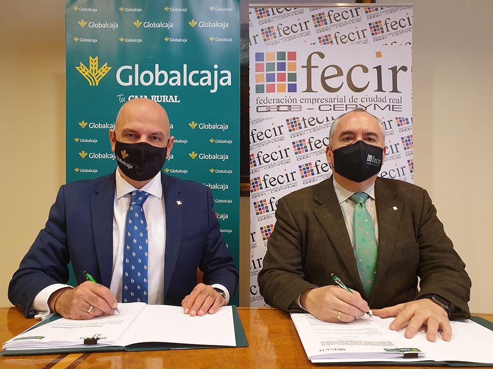 Firma convenio Globalcaja - FECIR