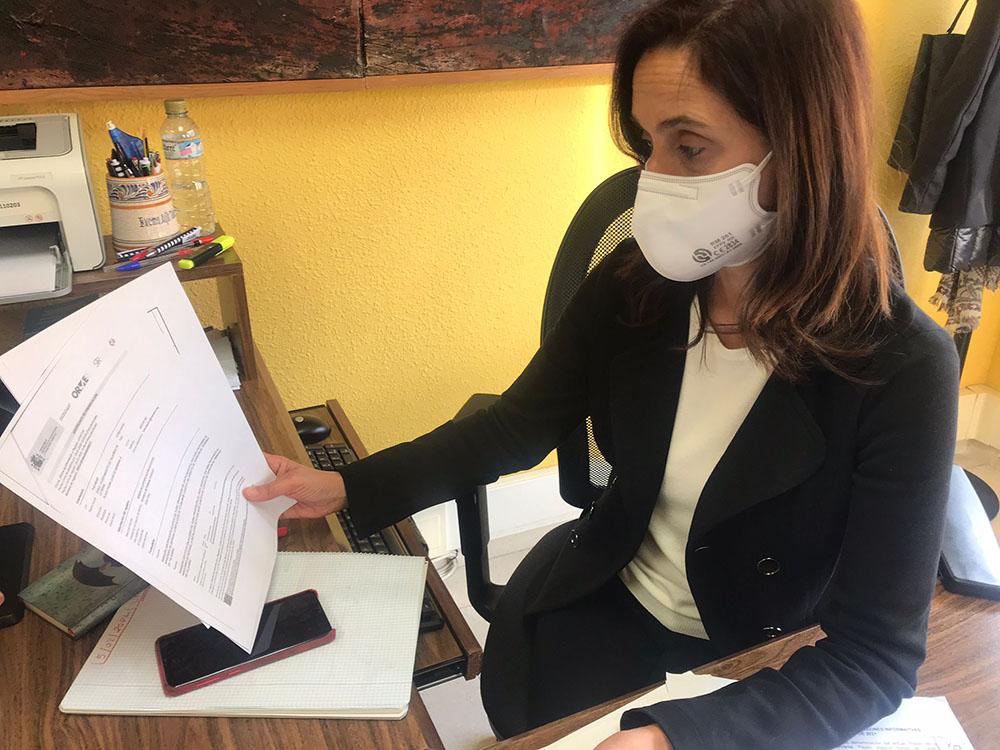 Flora Bellón documentos registro Ministerio y JCCM