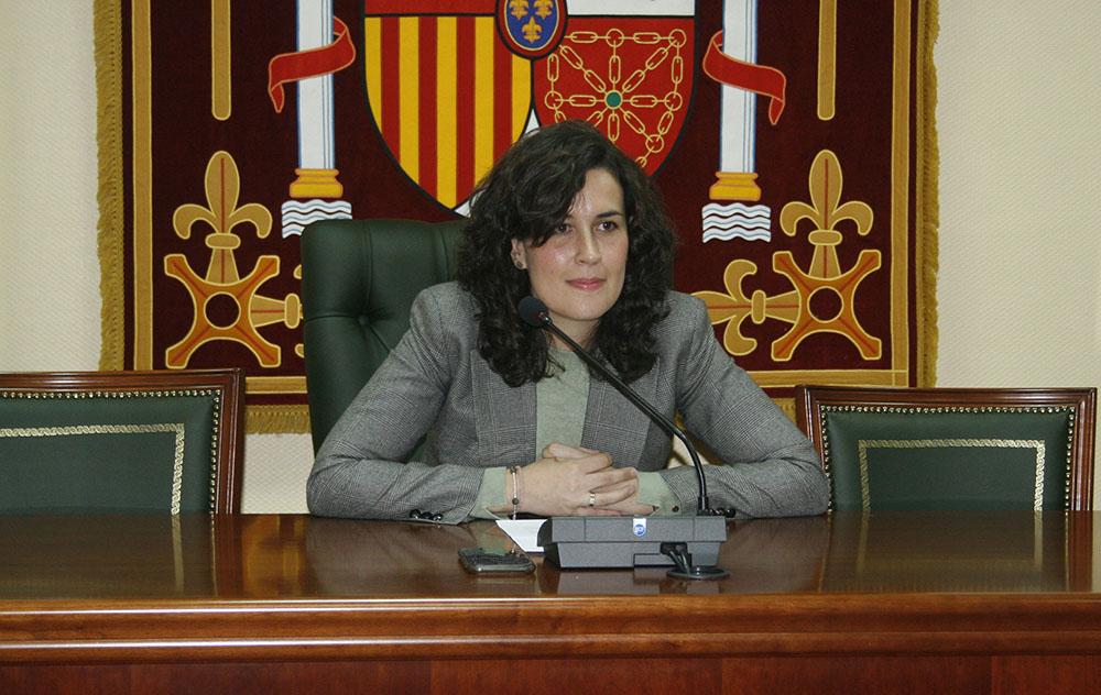Gema María García Ríos alcaldesa de Calzada de Calatrava