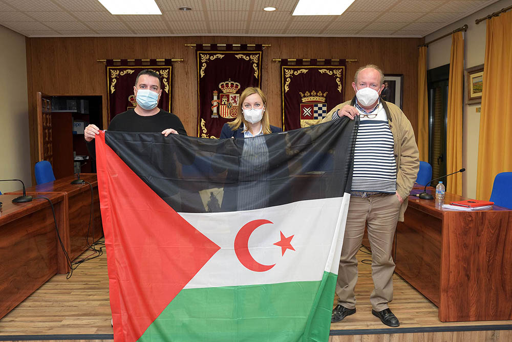 Portavoces_bandera Saharaui