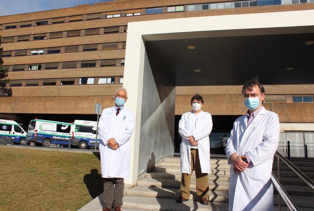 Profesionales de la GAI de Albacete