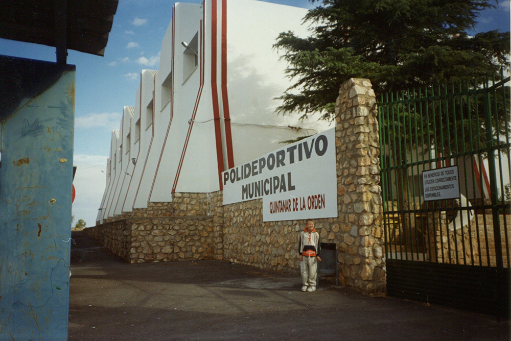 Quintanar entrada principal polideportivo