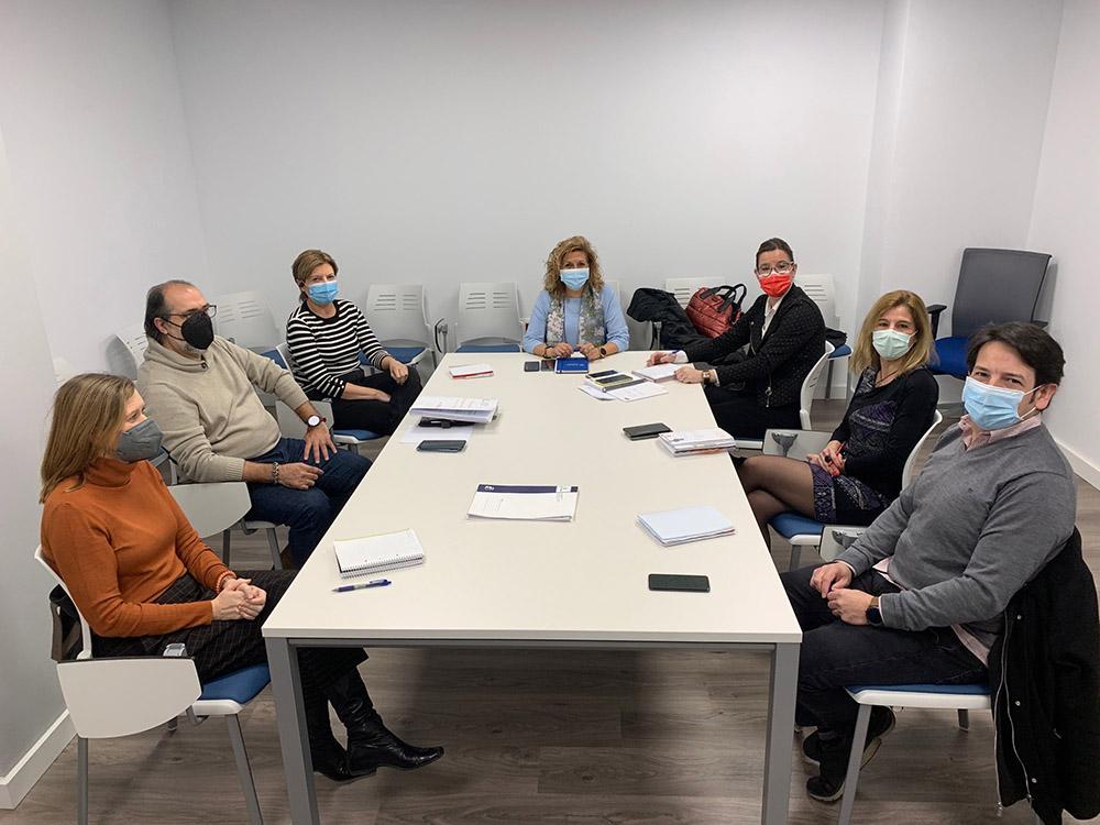 Reunión Oficina Dependencia Albacete