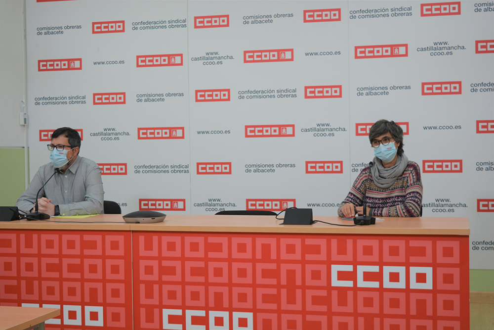 Rueda de prensa Federación Enseñanza CCOO AB