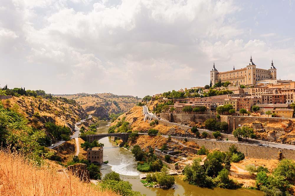 Panorama,Of,Toledo,,Unesco,World,Heritage,Sight