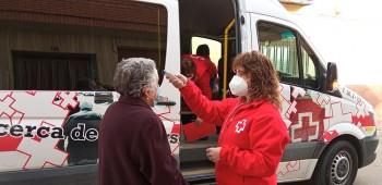 Cruz Roja acompañamiento Madridejos