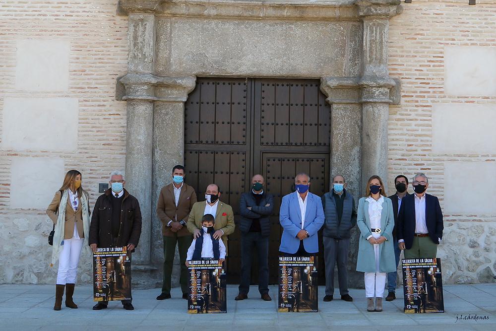 Villaseca familia Sorteo VII Alfarero de Plata Padrino Ganaderos Toledanos