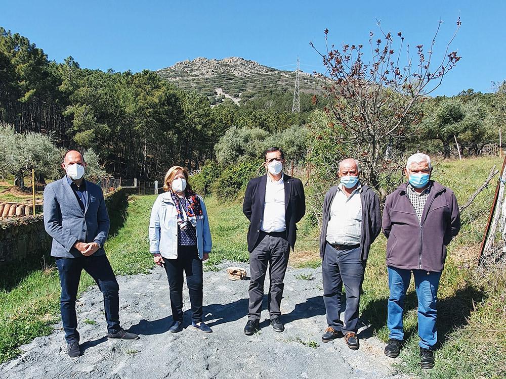 Visita a obras construcción de nuevo pozo agua potable en Puerto de San Vicente