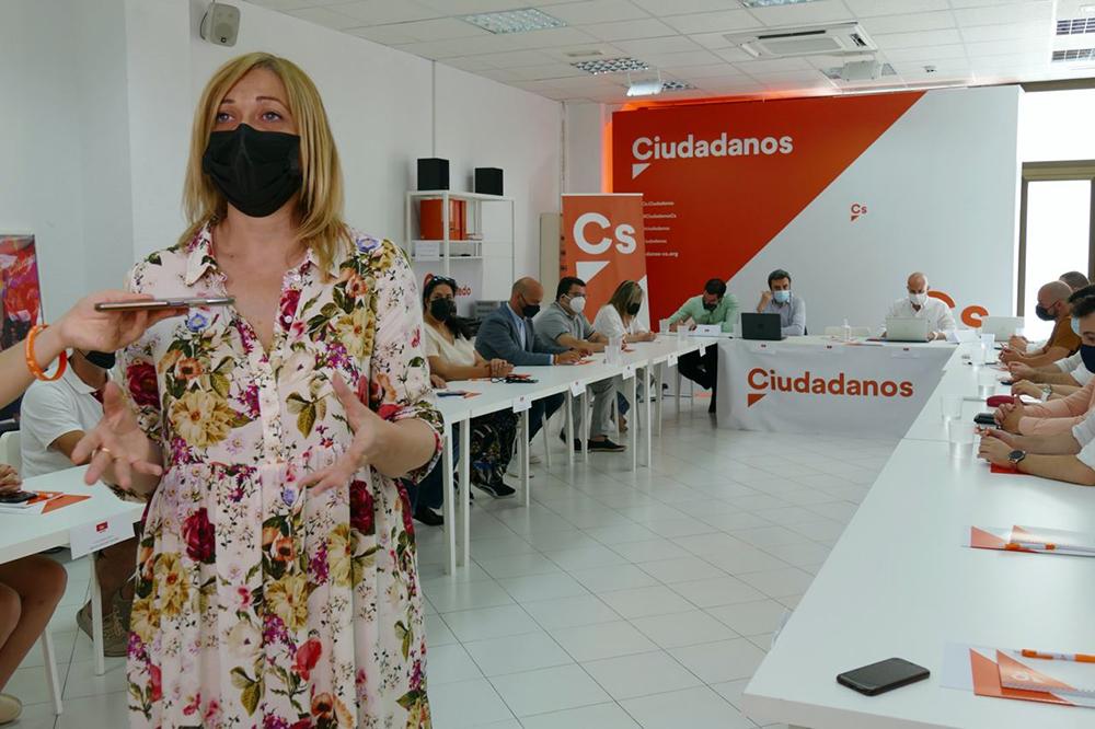 Carmen Picazo Plenario Provincial Cs