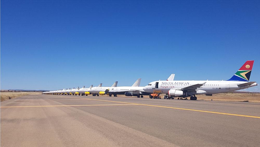 Aeropuerto CR zona de parking