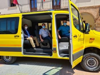 Entrega furgoneta base retén de madridejos