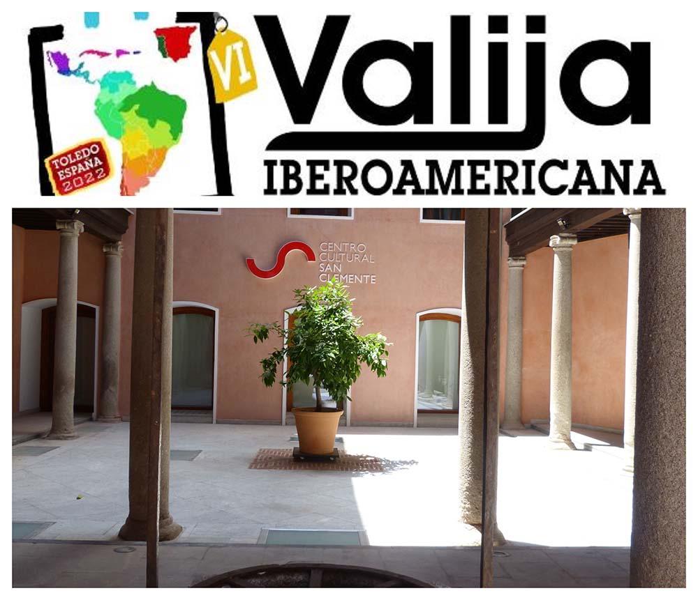 Exposición valija iberoamericana en San Clemente 16072021