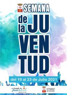 cartel Semana Juventud julio