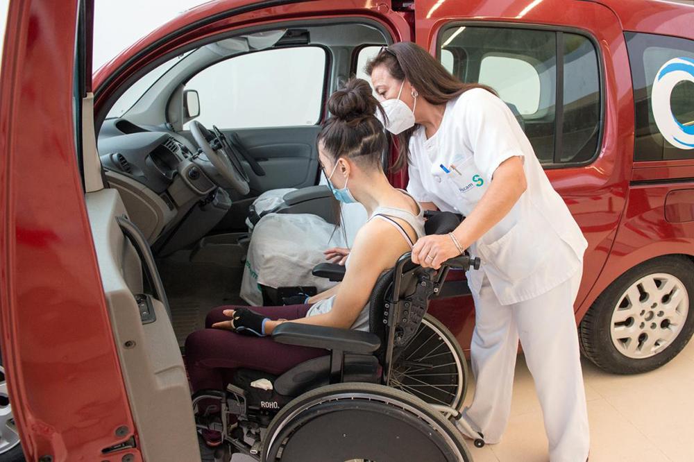 'Conducir tras la lesión medular'