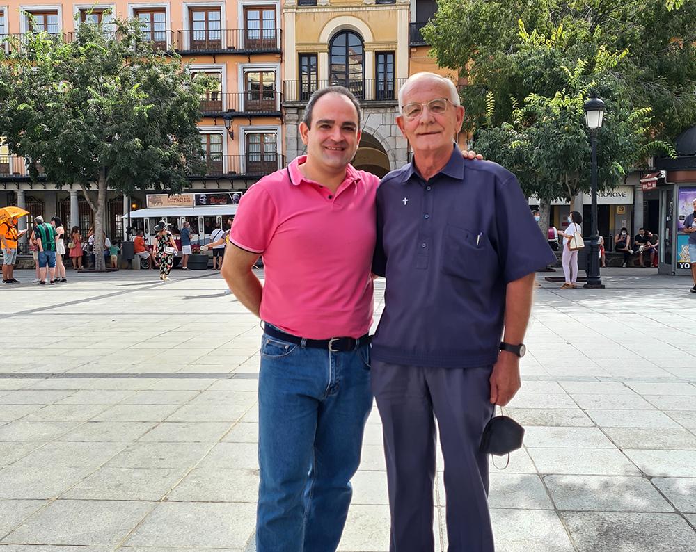 NdP Misión América Visita Padre Luis Pérez