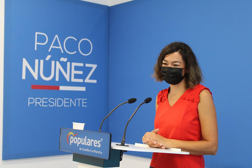 Rueda de Prensa de Claudia Alonso