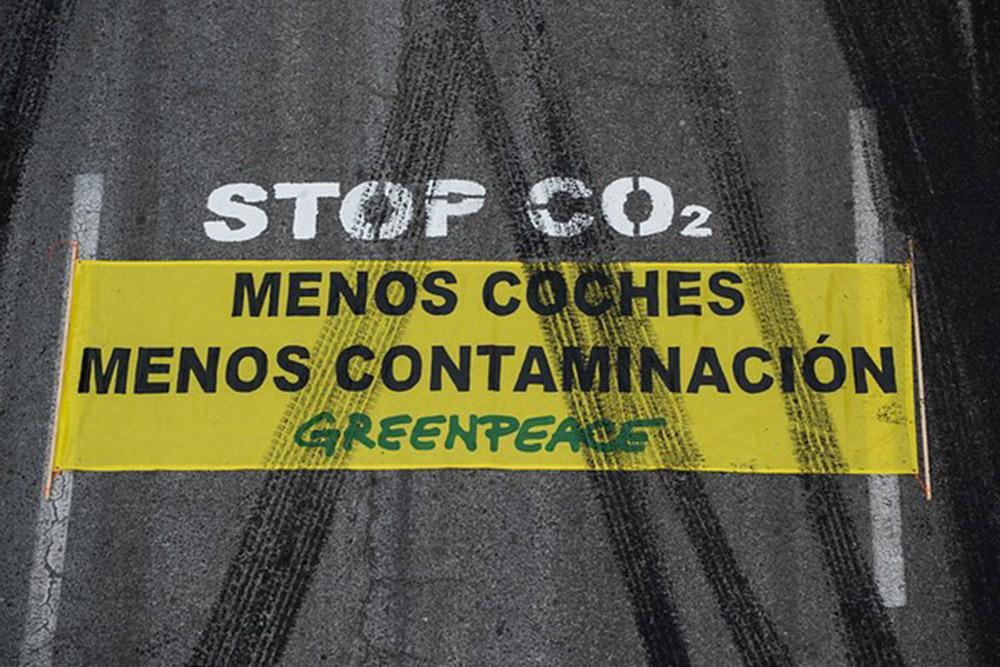 Greenpeace contaminación