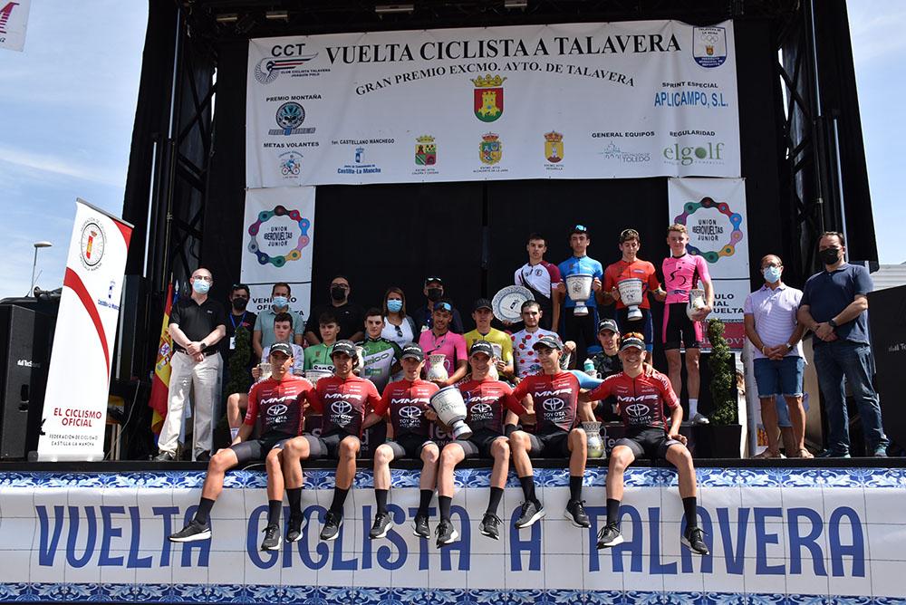 Talavera vuelta ciclista1