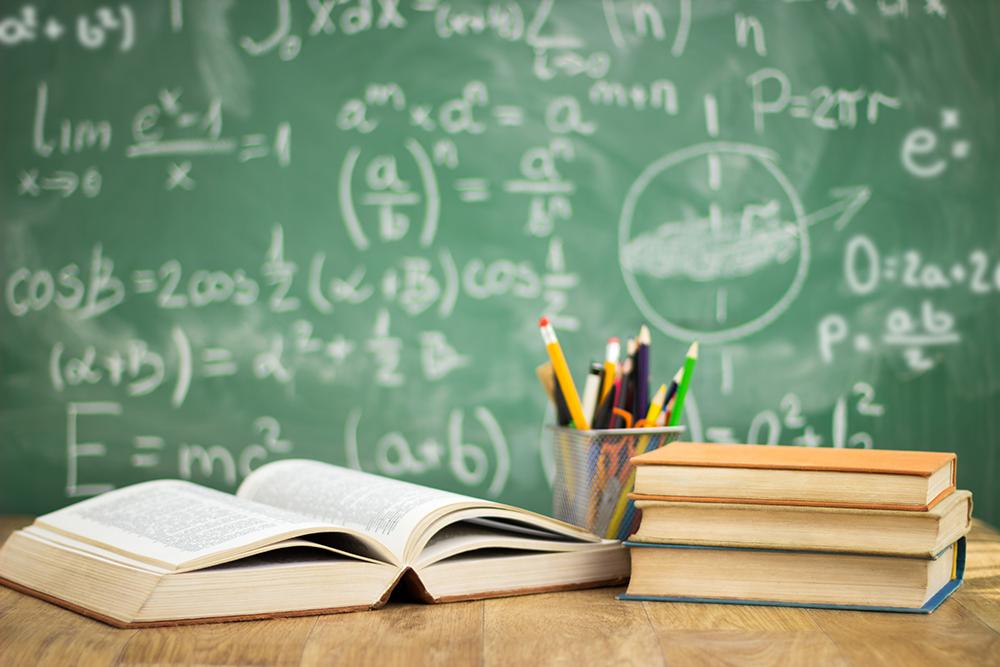 School,Books,On,Desk,,Education,Concept