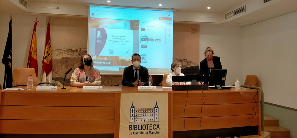 Jornada Técnica Bibliotecas provincia Toledo